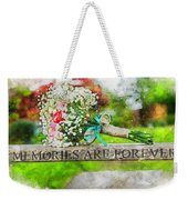 Bridal Bouquet Weekender Tote Bag