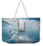 Bridge In The Clouds Weekender Tote Bag