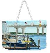 Bridge To Summer II Weekender Tote Bag