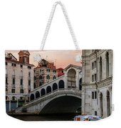 Bridges Of Venice - Rialto Weekender Tote Bag