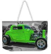 Bright Green Ford Weekender Tote Bag