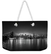 Bright Lights Of New York Weekender Tote Bag