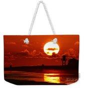 Bright Rota, Spain Sunset Weekender Tote Bag
