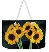 Bright Yellow Sunflowers Weekender Tote Bag