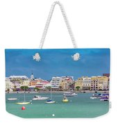 Brilliant Bermuda  Cityscape Weekender Tote Bag