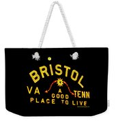 Bristol Sign And The Moon Weekender Tote Bag