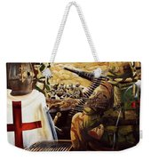British Crusader Weekender Tote Bag