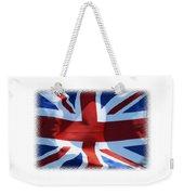British Union Jack Flag T-shirt Weekender Tote Bag