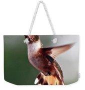 Broad Tailed Hummingbird Weekender Tote Bag