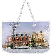 Broom Street Snow Weekender Tote Bag