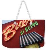 Buca Di Beppo Weekender Tote Bag