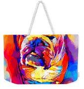 Bulldog 4 Weekender Tote Bag