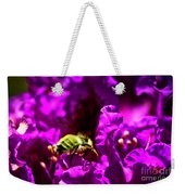 Bumble Bee On A Rhodedendron  Weekender Tote Bag