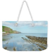 Burnmouth Shore, Cliffs And North Sea Weekender Tote Bag
