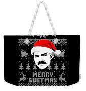 Burt Reynolds Christmas Shirt Weekender Tote Bag