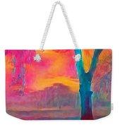 Bush Sunset  Weekender Tote Bag by Chris Armytage