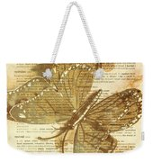 Butterfly Antiquities Weekender Tote Bag