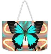 Butterfly Patterns 21 Weekender Tote Bag