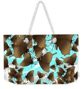 Butterfly Patterns 6 Weekender Tote Bag