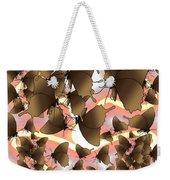Butterfly Patterns 8 Weekender Tote Bag
