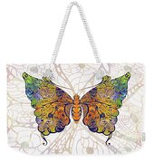 Butterfly Zen Meditation Abstract Digital Mixed Media Artwork By Omaste Witkowski Weekender Tote Bag by Omaste Witkowski