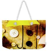 Button Storm Weekender Tote Bag