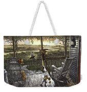 Cabin Fever Weekender Tote Bag by Clint Hansen