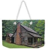 Cabin In The Woods - Fractals Weekender Tote Bag