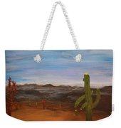 Cactus Bloom Weekender Tote Bag