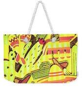 Cactus Carnival Weekender Tote Bag