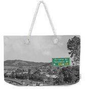 California Highway 101 Weekender Tote Bag