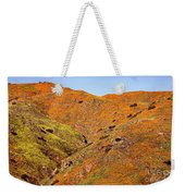 California Poppy Hills Weekender Tote Bag