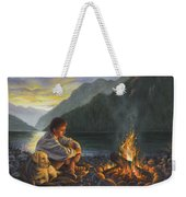 Campfire Companions Weekender Tote Bag by Kim Lockman