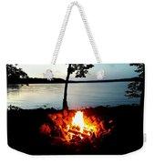 Campfire Weekender Tote Bag