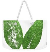 Cannas Leaves Weekender Tote Bag