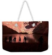 Canyon Silhouettes Weekender Tote Bag