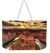 Canyons Bend Vertical  Weekender Tote Bag