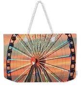 Capital Wheel Shining At Sunset  Weekender Tote Bag