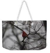 Cardinal On The Limb Weekender Tote Bag