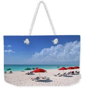 Caribbean Blue Weekender Tote Bag