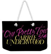 Carrie Underwood Cry Pretty 2019 Ajadcode11 Weekender Tote Bag
