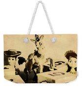 Cartoon Character Cowboys And Cowgirls Weekender Tote Bag