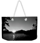 Cascade Sunset Weekender Tote Bag
