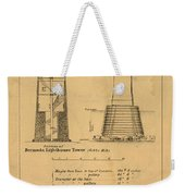 Cast Iron Lighthouses Weekender Tote Bag