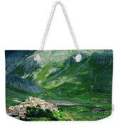 Castelluccio Weekender Tote Bag by Brian Jannsen
