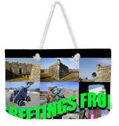 Castillo De San Marcos Custom Card Weekender Tote Bag