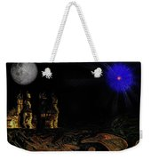 Castle In The Night Weekender Tote Bag