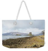 castle Stalker in late autumn Weekender Tote Bag