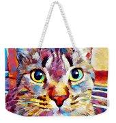 Cat 13 Weekender Tote Bag