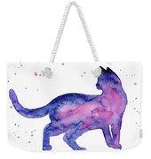Cat In Space Weekender Tote Bag
